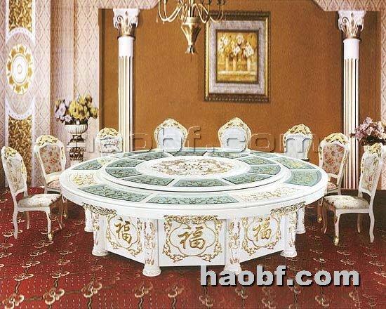 北京酒店家具提供生产实木电动餐桌椅厂家
