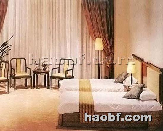 北京酒店家具提供生产红木板式酒店家具