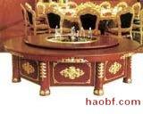 实木酒店电动餐桌椅