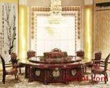 酒店餐桌图片