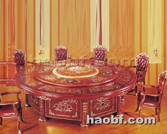 北京酒店家具提供生产酒店智能电动餐桌厂家