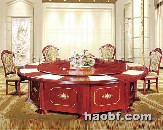 北京酒店家具提供生产酒店宴会电动餐桌厂家