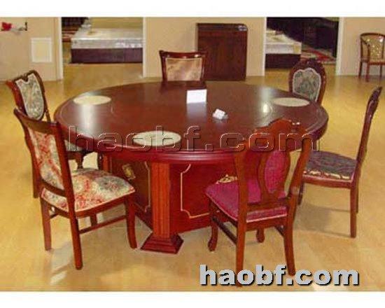 北京酒店家具提供生产酒店豪华电动餐桌厂家